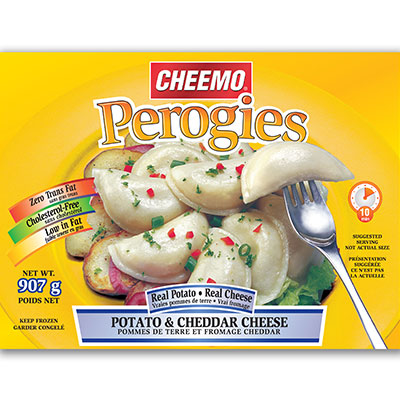 CHEEMO Perogies - Potato & Cheddar Cheese