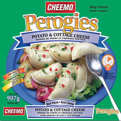 CHEEMO Perogies - Potato & Cottage Cheese