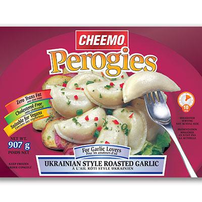 CHEEMO Perogies - Ukrainian Style Roasted Garlic