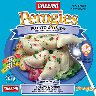 CHEEMO Perogies - Potato & Onion