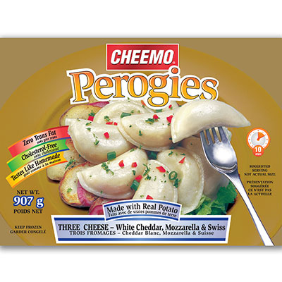 CHEEMO Perogies - Three Cheese
