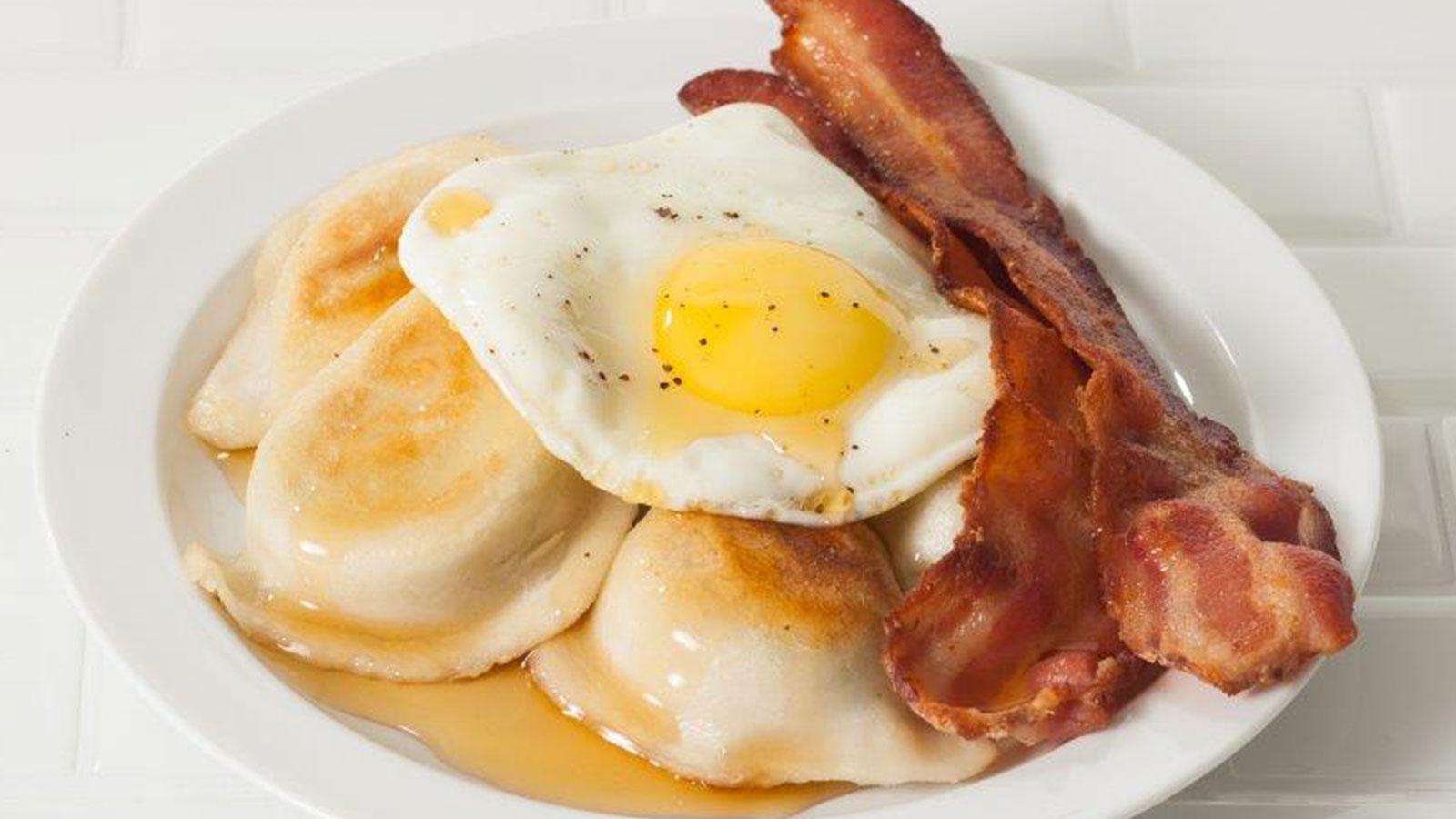 Recipe Breakfast Perogies Cheemo