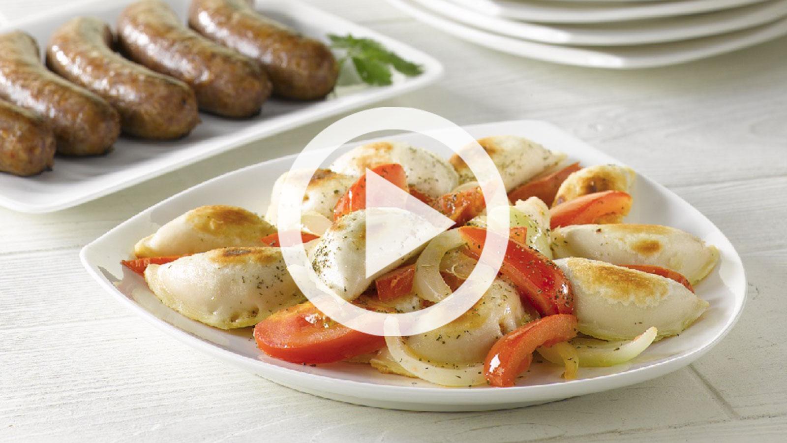 Perogie Recipe Easy Italian Serving