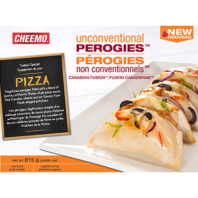 try making perogies in a non-traditional recipe or filling. check out these pizza perogies.